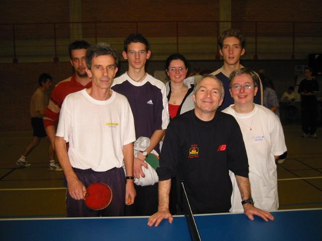 Photos du tournoi asptt mulhouse tennis de table - Julien lacroix tennis de table ...